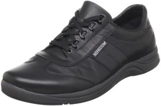 Mephisto Men's Hike Black Calf Leather Casual Shoe