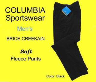 Mens Columbia Sportswear Brice Creekain Fleece Pants XL