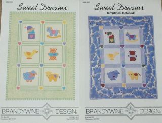 Brandywine Design Sweet Dreams Crib Quilt Pattern