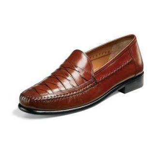 Brass Boot Napoli Mens Cognac Leather Shoes 93369 221