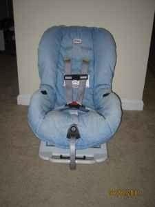 Britax Roundabout Blue Denim Car Seat Cover