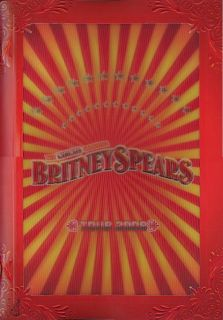Britney Spears SEALED 2010 Circus Tour Concert Program Book