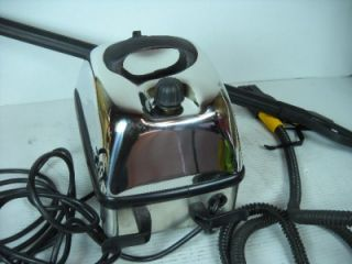 Mod T.T. Hill Inox Commercial Vapor Steam Cleaner W/Hose And Nozzle