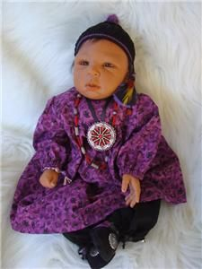 Reborn Doll Kit for Sale Ethnic Brea Sculpted by Lorna Miller Sands