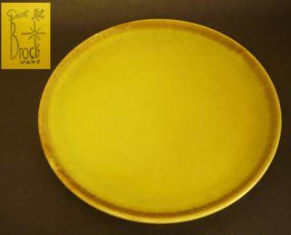 Mid Century Brock Ware Desert Mist Chop Plate Platter