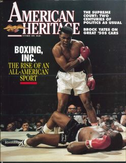 American Heritage Muhammad Ali Brock Yates 10 1991