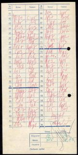 Chess Score Sheet 1971 Bronstein Taimanov Signed 39th Championship of