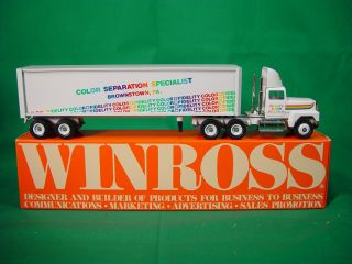 Tractor Trailer Truck Fidelity Color Brownstown Pennsylvania Boxed
