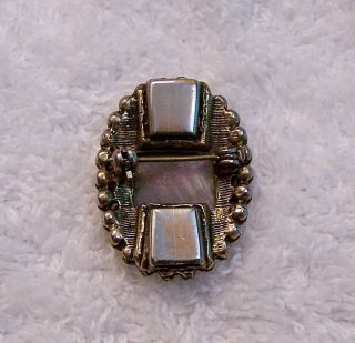 Vintage Repro Pin Brooch Victorian Cameo Woman Face Profile Person