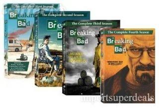 New Breaking Bad Seasons 1 4 Complete DVD Set Season 1 2 3 4 Free 2