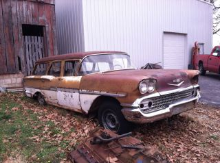 1958 Chevy Brookwood Station Wagon Ratrod Nomad Safari