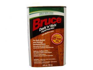 Bruce Hardwood Floors W105 32oz Dark N Rich Wood Wax