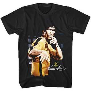 New Bruce Lee in Yellow Tracksuit Game of Death Classic Movie T Shirt