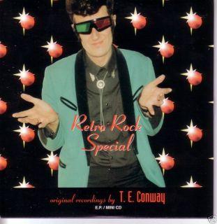 Queen Brian May Retro Rock Special TE Conway Promo CD