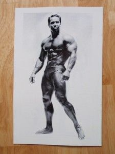 Bill Pearl Fabulous Forearms Bodybuilding Muscle Exercise Workout