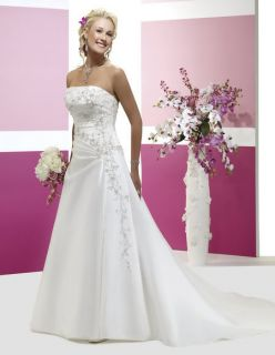 Lace Up Bridal Bridesmaid Wedding Gown Prom Ball Dress