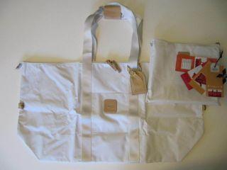 New White Brics x Bag Capri Holdall x Large 28 Duffel Bag 2 in 1