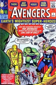 Jack Kirby Avengers #1 Rare Large Production Art Pg 14
