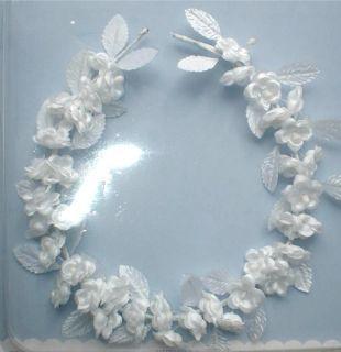 Crown Tiara Head Piece Headband Bridal Flower Girl Communion