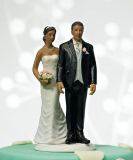 The Love Pinch Bride Groom Couple Wedding Cake Top Topper Can Be