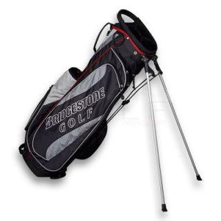 Bridgestone Golf Lightweight Stand Bag Black Brand New