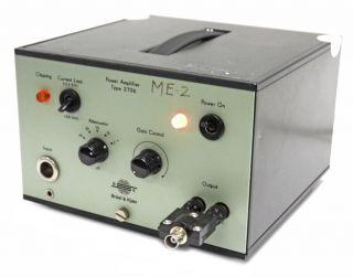 Bruel & Kjaer 2706 Vibration Exciter Mini Shaker Power Amplifier For