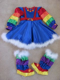 Rainbow Bright Halloween Costume Pageant OOC Custom Girls Cartoon