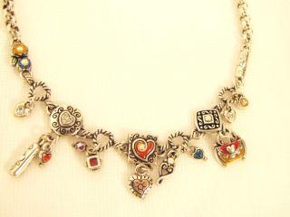 brighton multi color rio charms necklace