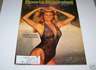 1979 Sports Illustrated Swimsuit Christie Brinkley