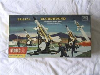 Frog Bristol Bloodhound Anti Aircraft Plastic Kit 1 24