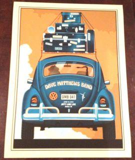 2012 DAVE MATTHEWS BAND BRISTOW #41 BUG CONCERT POSTER 6/16 VA MNT #75