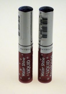 New Maybelline New York Water Shine Liquid Diamonds Lip Gloss in 5