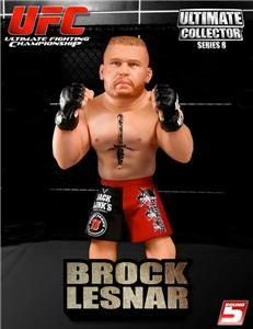 BROCK LESNAR UFC ROUND 5 SERIES 8 REGULAR EDITION ACTION FIGURE