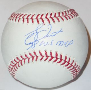 Bucky Dent Signed 1978 World Series MVP Baseball New York Yankees Sox