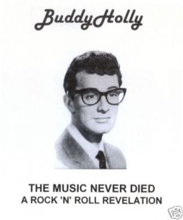 Buddy Holly The Music Never Died CD A Rock & Roll Revelation   Rare