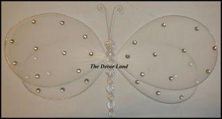 crystal Gem Dragonfly Ceiling Hanging Wedding Room Decorations Hall