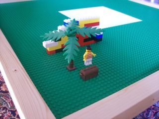Plans to Build A Table for Use with Lego® Building Toys Blocks on CD