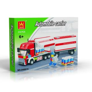 Truck Set 310 Pcs Set Building Blocks in Large Gift Box
