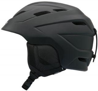 Giro Nine 10 Matte Black Ski Snowboard Helmet Snow Adult