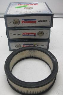 Air Filter 3 Piece GMC Buick Chevrolet Pontiac Oldsmobile