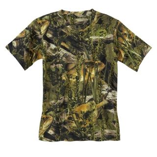 Fishouflage Bass Print Camo Pocket T Shirt Short Sleeve