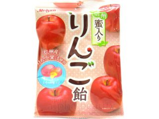 meisan japan shinsyu honey apple juicy candy 65g from hong