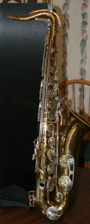 Bundy Tenor Saxophone Sax Needs Some TLC Case