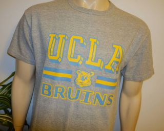 1980s UCLA BRUINS vintage rayon college t shirt XL University