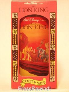 Disney Lion King Burger King Collector Series Coca Cola