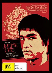 HOW BRUCE LEE CHANGED THE WORLD NEW DVD R4 Documentary Jackie Chan LL