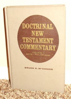 NEW TESTAMENT COMMENTARY by Bruce R. McConkie Volume 2 LDS MORMON BOOK