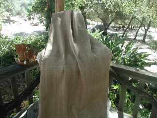 Decorator Silk Linen Burlap Rustic Beauty Jeanne DArc Living Look 58