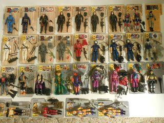 Vintage GI Joe Cobra Lot. 110 Figures, 40 Vehicles, Accessories, File