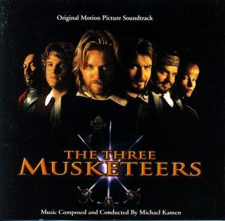 The Three Musketeers CD 10 Songs Bryan Adams Rod Stewart Sting Michael